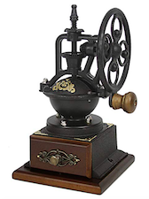 coffee grinder antique