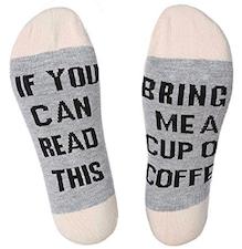 unisex coffee socks