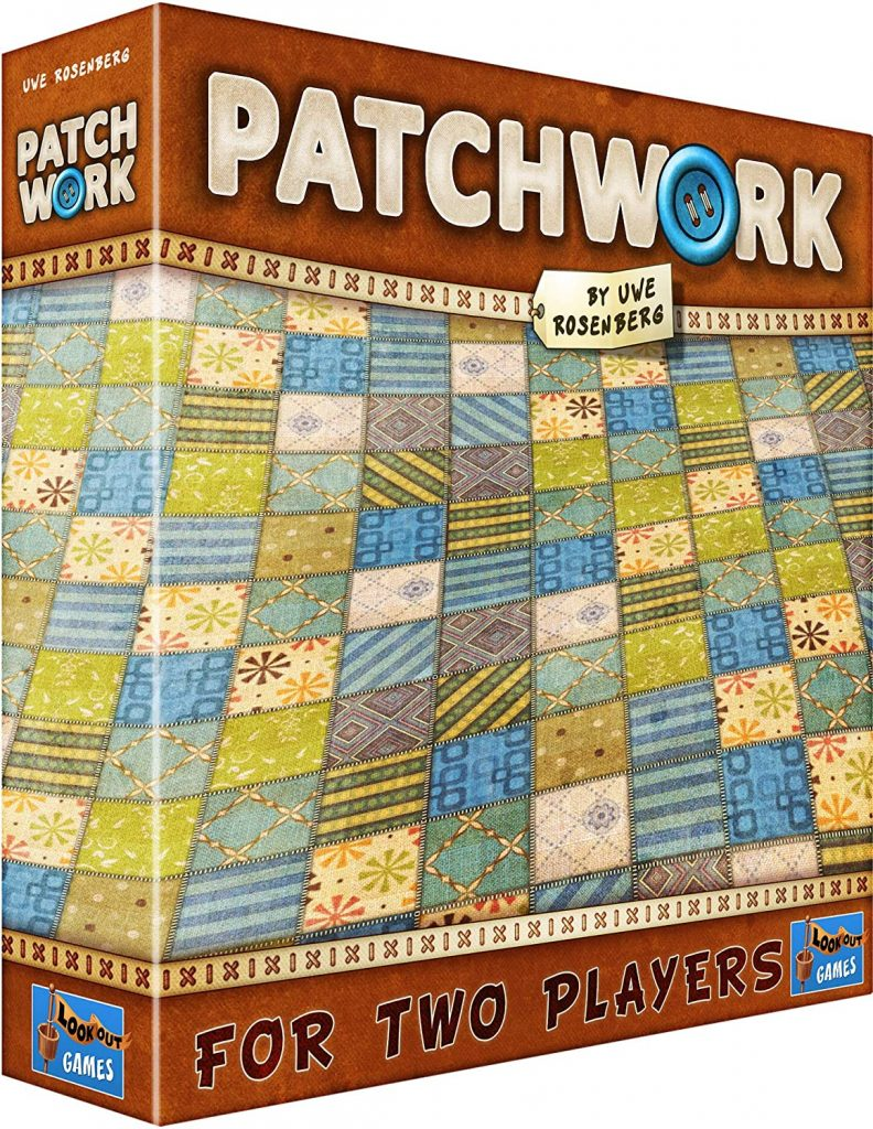 best board games for couples patchwork